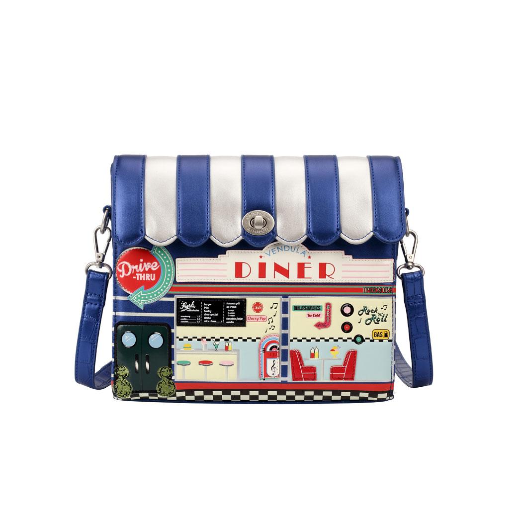 894243589b Borsa Vendula London Diner box bag - Uza